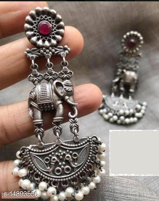 Elephant style Earring for party wear