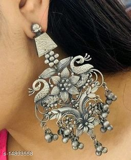 Peacock style Earring for party wear