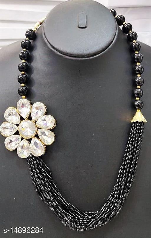Black is The Beauty Collection- All the Fast Selling Necklace Set Designs in Black for the Women