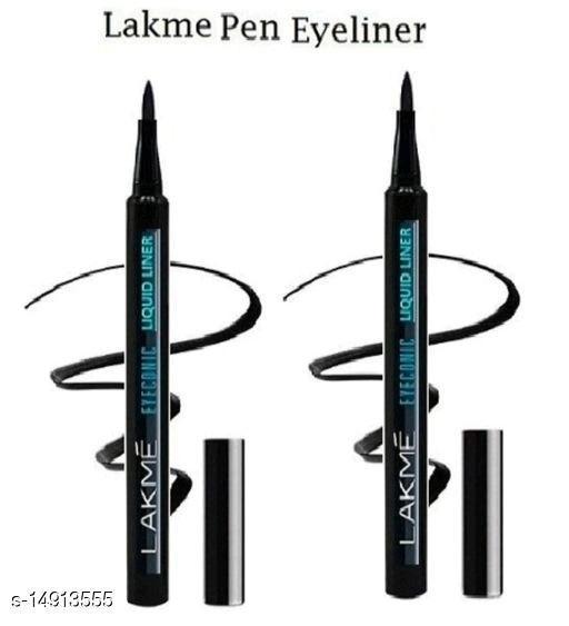 Lakme Eyeconic Black Waterproof Pen Eyeliner (Pack of 2)