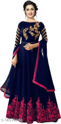 Fancy Embroidered gown