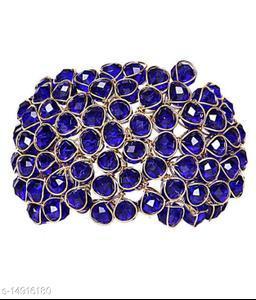JSD  Crystal Blue Bracelet for Girls and Women_Adjustable