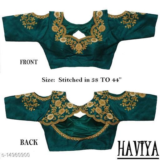 Women's Phantom Silk Rama  Stitch Blouse