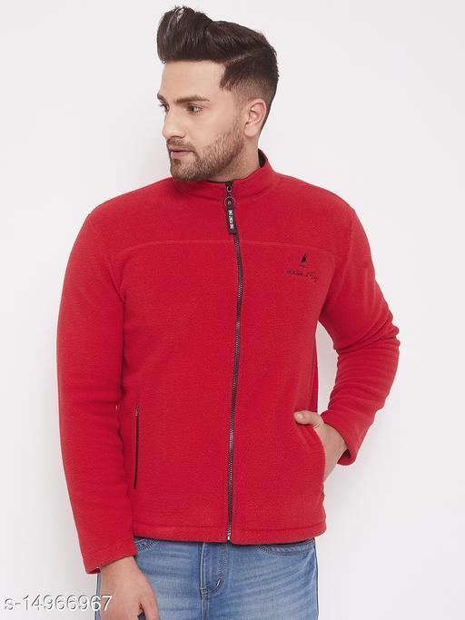 Harbor n Bay Red Long Sleeves Sweatshirts