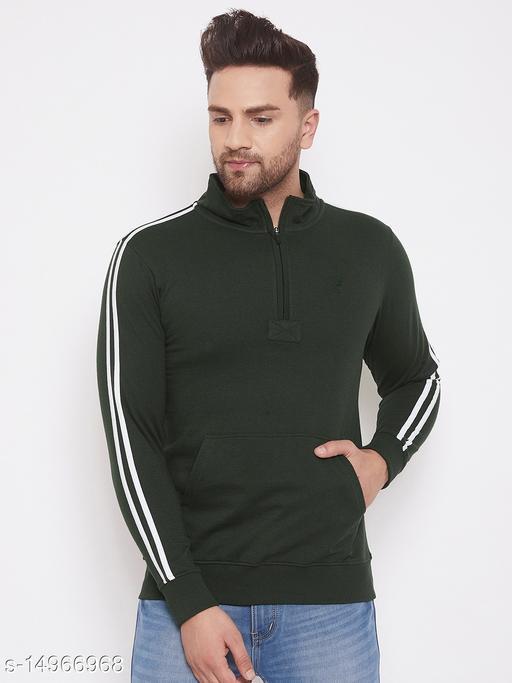 Harbor n Bay Olive Long Sleeves Sweatshirts