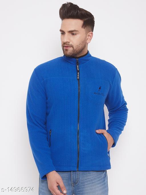 Harbor n Bay Blue Long Sleeves Sweatshirts