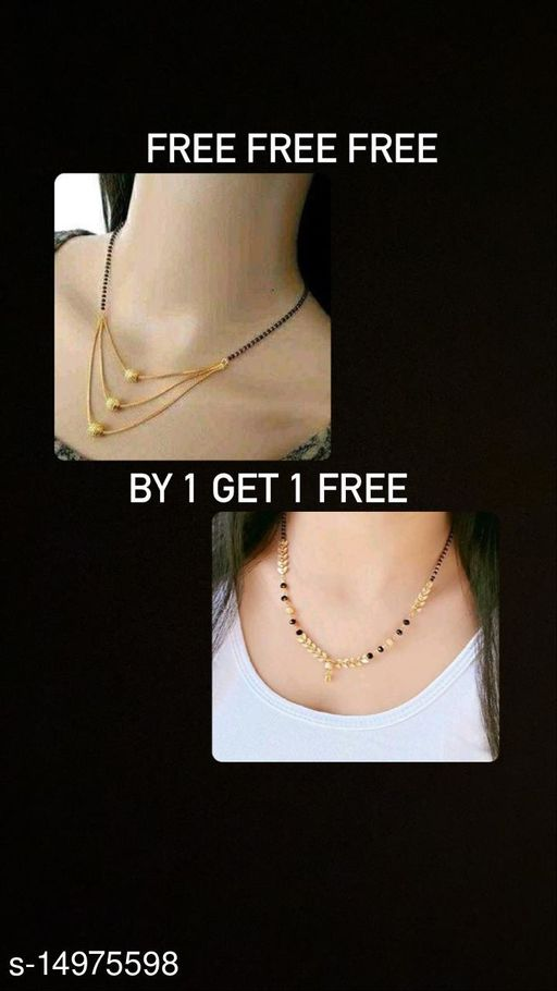 Trendy Colorful Mangalsutra