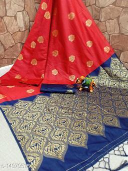 Banarasi Soft Silk Jacquard Saree