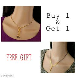 Womens trendy 1gm Gold mangalsutras combo