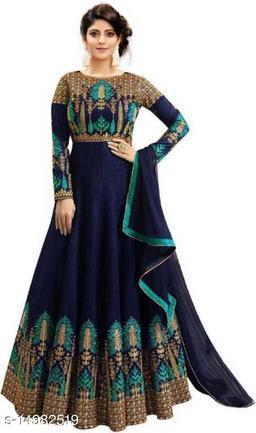fancy Embroidered lengha choli