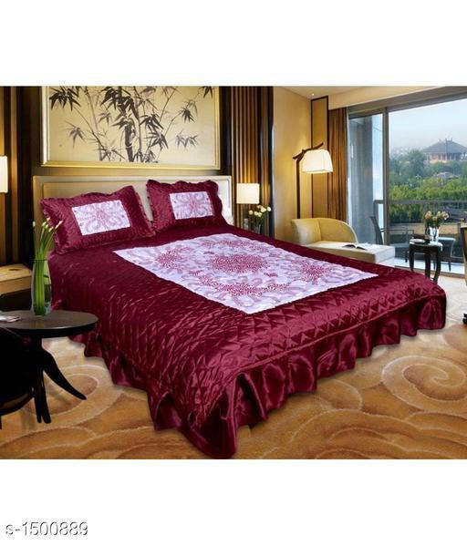 Fashionable Satin Double Bedsheet