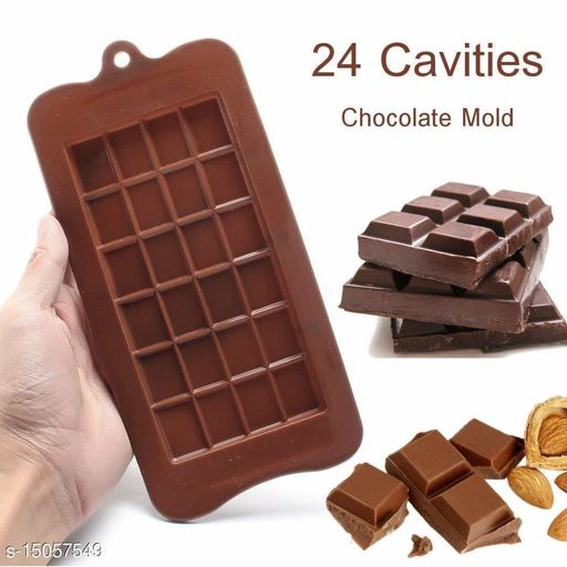 Silicone Bar Chocolate Mould Break Apart Choc Block Mould Pack of 1