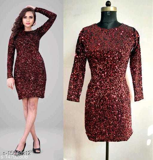 Fancy Women Sequin Dresses