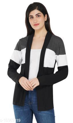 STF trendy full sleeve women shrug