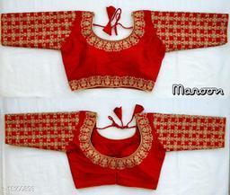 WearAffair Women Traditional Embroidary Blouse