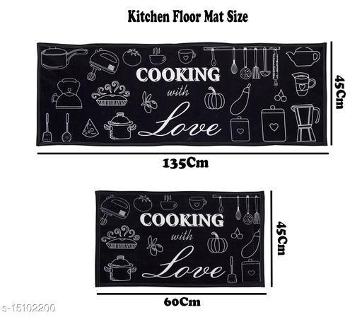 Exclusive Printed Kitchen Floor mat set of 2