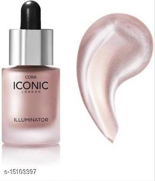 Iconic illuminator liquid highlighter face & body(Blossom) Highlighter  (Blossom) 04