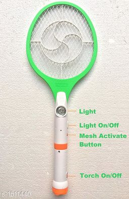 Mosquito Racket With LED Torch