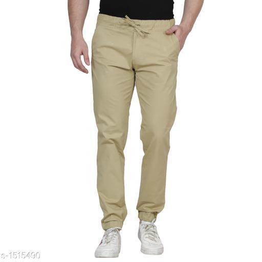 Trendy Men's Cotton Jogger