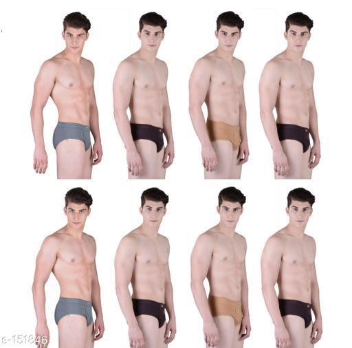 Comfy Cotton Men's Underwears Combo