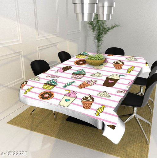 Sandal Decors dining table cover 4 seater square ( 40x60 Inches )