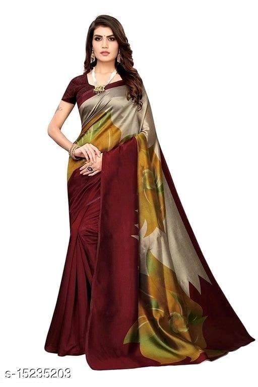 Trending Printed Mysore Silk Saree