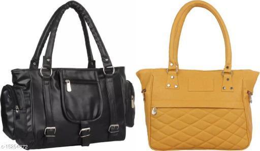 Stylish Yellow balti & Black 3 bkl