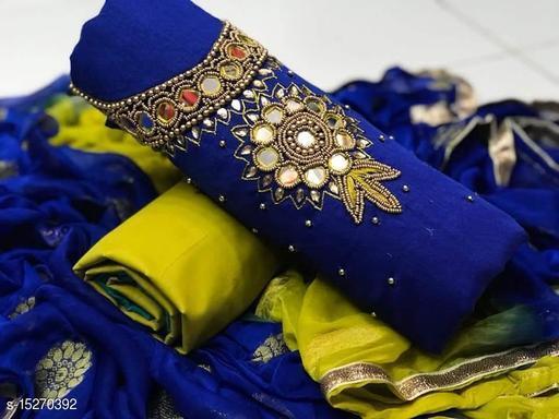 RAJTILAK CHANDERI SUIET AND DRESS MATERIAL