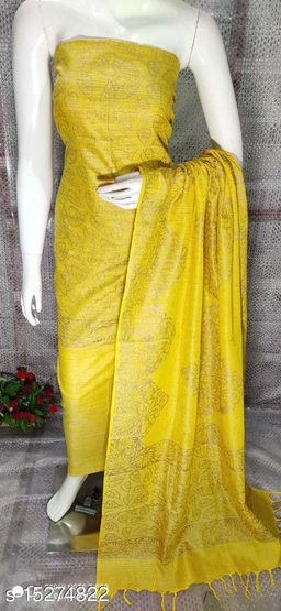 Kashvi Refined Semi-Stitched Suits