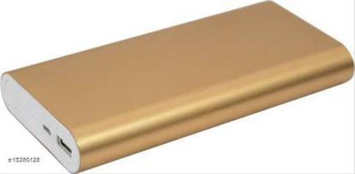 MI-STS Stylish 20000mAh USB Port Fast Charging Power Bank(Gold)