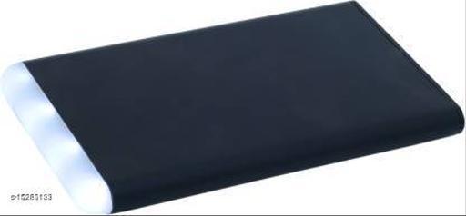 MI-STS Pumi LED 4000mAh USB Port Fast Charging Power Bank(Black)
