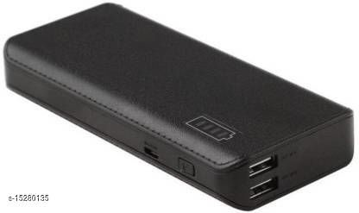 MI-STS Y2 20000mAh Daul USB Port Fast Charging Power Bank(Black)