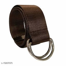Men & Women Casual, Evening Beige Nylon Belt