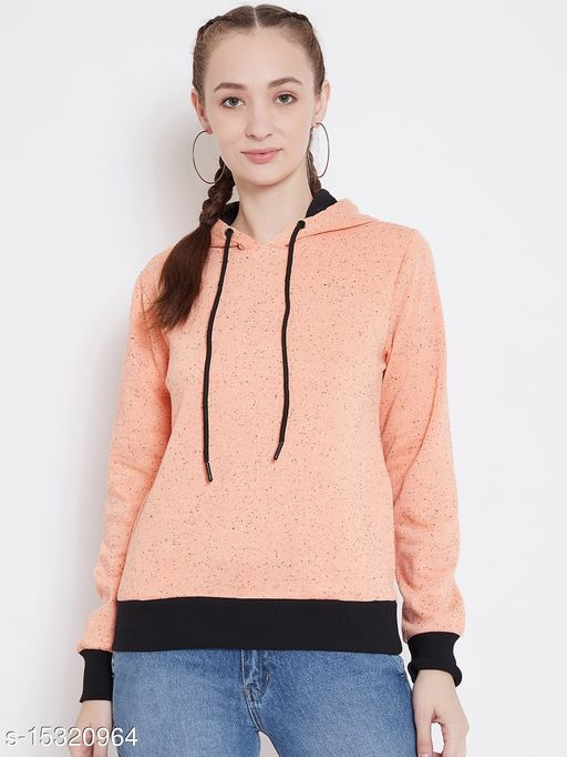 PERFKT-U Women's Nap-yarn Fleece Sweatshirt