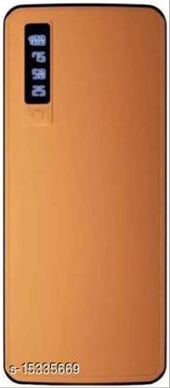 FRYSKA Smarty Leather 20000mAh Dual USB Port Fast Charging Power Bank(Brown)