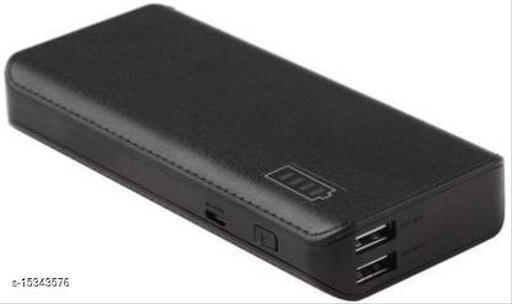 HBNS Y2 20000mAh Daul USB Port Fast Charging Power Bank(Black)