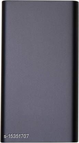 HBNS Stylish 20000mAh USB Port Fast Charging Power Bank(Black)