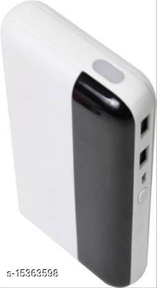 MI-STS Gemstone 20000mAh Dual USB Port With Flash Light Fast Charging Power Bank(White)