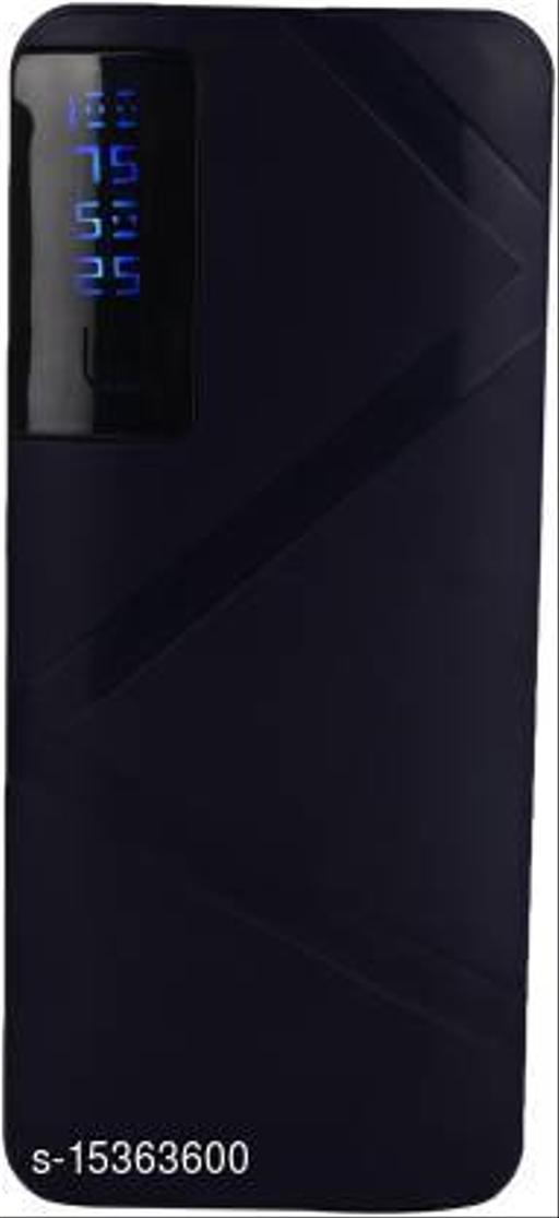 MI-STS Crossline 20000mAh Dual USB Port With Flash Light Fast Charging Power Bank(Black)
