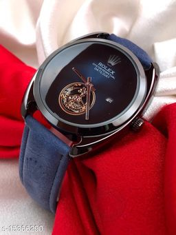 NEW OVAL FO RLUXURIOUS LIFE STYLE TRENDY WATCH FOR MEN