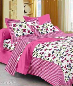 jaipuri printed bedsheet with free mask