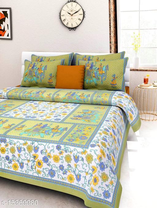 double bedsheet cotton
