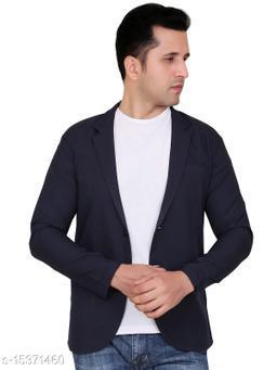 ClickOne Viscose Casual Solid Blazer