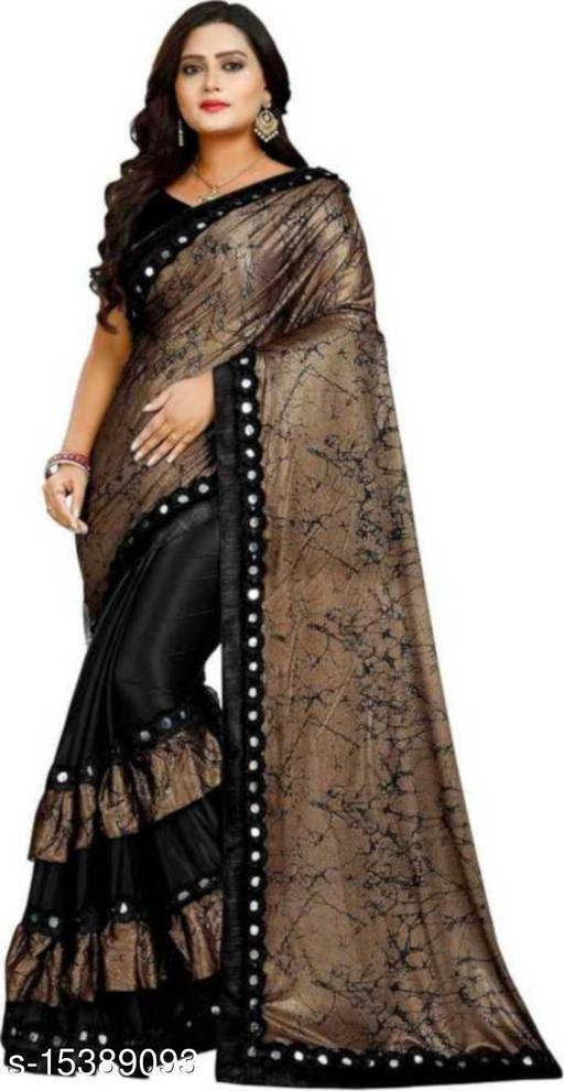 tiya ruffel saree