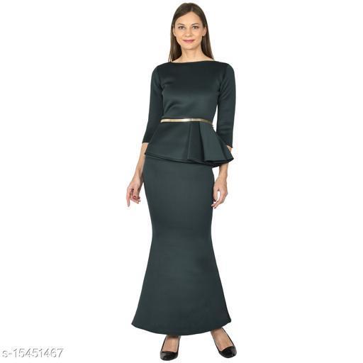 Fuucshia Party Dresses For Women's