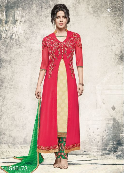 Marine Style Designer Suits & Dress Material