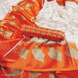 Animal Design Art Silk Saree