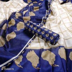 Womens Printed Art Silk Sarees