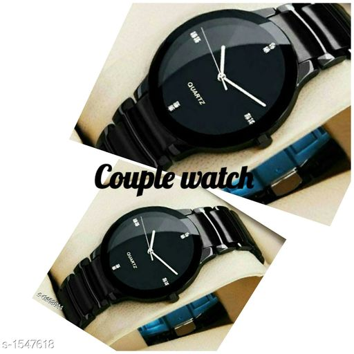 Analog Brother-Siste Wrist Watches Combo