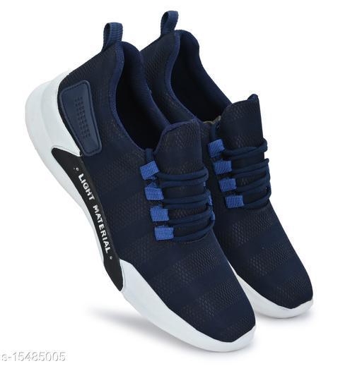 Attractive Men's Blue Sports Shoes